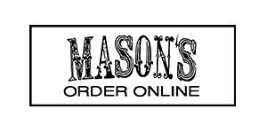 Mason's Order Online